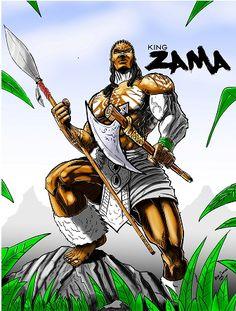Peda Comics _ The Chronicles of the Newborn _ King Zama