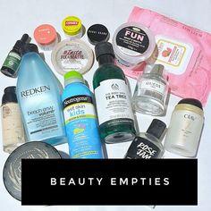 Max The Unicorn: Beauty Empties! Neutrogena, Olay, Carmex, Tea Tree, Empty, Madness, Unicorn, Fragrance, Skin Care