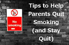 Tips to Help Parents Quit Smoking (and Stay Quit) from Code Name: Mama