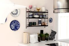 So nice. Kitchen Interior, Bookcase, Shelves, Nice, Vintage, Ideas, Home Decor, Life, Shelving