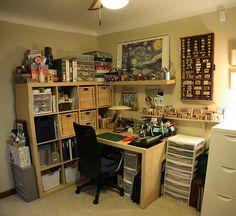 Scrap room stitched by Karinsen, via Flickr