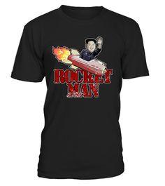 North Korea Rocket Man T-Shirt | Teezily | Buy, Create & Sell T-shirts to turn your ideas into reality
