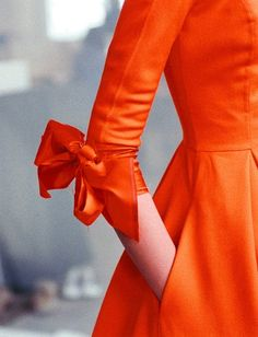 whatever–makes–you–happy:  if this were pink it would be the world's most perfect dress by lisaann on Flickr (via Pinterest) I like the orange, myself.