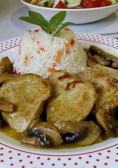 Pork Tenderloin Recipes, Greek Recipes, Food And Drink, Meat, Chicken, Cooking, Kitchen Stuff, Night, Pork