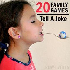 family games tell a joke