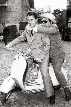 Alberto Sordi ed Aldo Fabrizzi