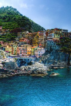 Beautiful Cique Terre in Italy...check out YouQuee.com for most romantic spots to get married in Italy