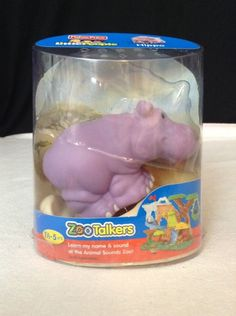 Fisher-Price Little People ZOO TALKERS Hippo  #FisherPrice