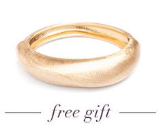 Now, for a limited time, we're shipping a new free gift with every order over $50. Hello, Felicity Bangle! The only question is, will you gift it... or keep it?