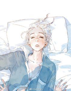 #sleepy! Art by Jaeliu