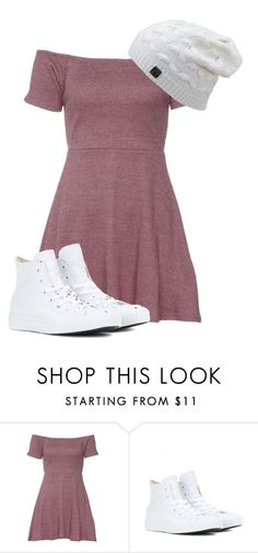 """Days Like this"" by lovecarabear ❤ liked on Polyvore featuring Converse and fall2015"