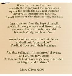 Mary Oliver❤️