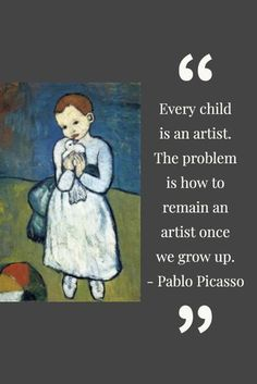 One of the most famous artists of all time is no doubt the Spanish artist Pablo Picasso. Pablo Picasso was not only an amazing artist… Pablo Picasso Quotes, Great Quotes, Inspirational Quotes, Most Famous Artists, Spanish Artists, Creative Icon, Art Institute Of Chicago, People Art, Beautiful Words