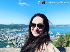 # @createart_withpetra thanks for sharing your journey with all us silly people my friend! What are you looking forward to seeing?       Good bye Norway  Good bye beautiful Bergen. Feeling immensely happy here. Next week Tokio ... and I am going to take all of you along to Japan with my @instagram stories #norway #may2019 #bergen #floyen #happy #happyness #shades #mountfloyen #view #beautiful #travel #shades #gogles #smile #photooftheday #pictureoftheday #photography #photo #seaview… My Friend, Friends, Thanks For Sharing, Looking Forward, Bergen, You Look, Instagram Story, Norway, Sunglasses Women