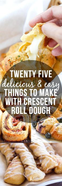 25 Delicious And Easy Things To Make With Crescent Roll Dough - you need these recipes in your life!!