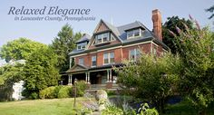 Amish Country, Pennsylvania  The best B&B ever!!  B.F. Hiestand House is an elegant High Queen Anne style Victorian inn conveniently located in the Historic Rivertowne of Marietta, PA along the Susquehanna River.