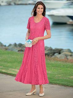 7929a35b6c5 M LACE DRESS W GODETS Mother Of Groom Dresses