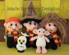 PDF PATTERN: Morris the Mummy Crochet Pattern Only por maryabbie986