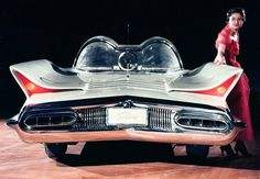 "1955 Lincoln Futura. Used in the 1959 movie ""It Started With A Kiss"" and later turned into the Batmobile."
