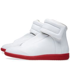 Maison Margiela 22 Red Sole Future Sneaker (White)