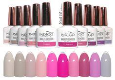 NAIL IT! by Inanna : Indigo Nails Nailfluencer Collection - swatches of all 10 colors Opi Gel Nails, Indigo Nails, Nail Games, Gel Polish, Nail Colors, Swatch, Like4like, Lipstick, Nail Art