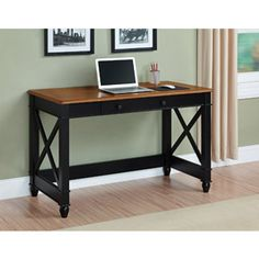 Better Homes and Gardens Autumn Lane Writing Desk, Multiple Finishes ~ $139.98 (Walmart)