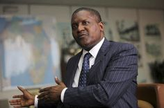 Nollywood Online Gist - 100% Entertainment : Business Magnate - Dangote Excited…