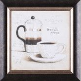 Found it at Wayfair - Parisian Coffee III by Emily Adams Framed Painting Print