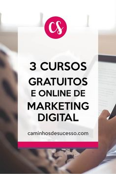 3 Cursos Online e Gratuitos de Marketing Digital para Iniciantes. ##marketingdigital #empreendedorismodigital #cursosgratuitos #cursosonline #cursosgrátis #cursosparainiciantes #cursosdemarketing Inbound Marketing, Business Marketing, Email Marketing, Business Tips, Internet Marketing, Marketing Digital Online, Alta Performance, Web Design, Interesting Information