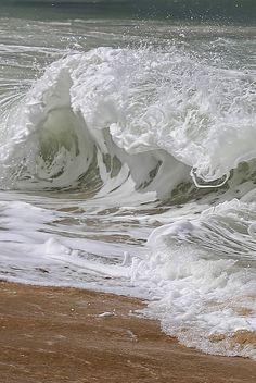 Waves at Praia da Barra do Rio Trancoso | Flickr ...