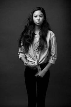 Teenage portrait, studio portrait, girl portrait
