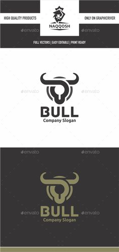 Bull — Vector EPS #bull #shirt • Available here → https://graphicriver.net/item/bull/15717175?ref=pxcr