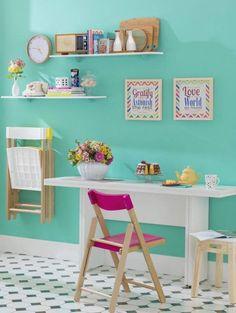 Escritório de juvenil Office Desk, Corner Desk, Rest, Furniture, Home Decor, Study Corner, Bedroom, Home, Corner Table
