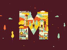 Manila Dribbble Meetup by Nico Encarnacion #Design Popular #Dribbble #shots
