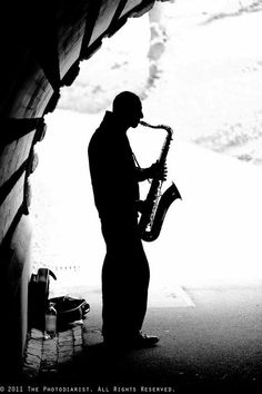Silhouette would be cool with or without instrument