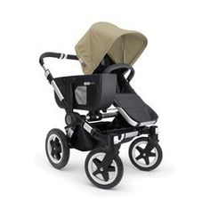 Bugaboo Donkey MONO Stroller- Black base WITH Fabric (Sand). *IT'S A MONO-DUO-TWIN STROLLER -Expand and downsize in only three clicks. *ONE PIECE FOLD & SELF STANDING -Makes folding and storage a piece of cake. *MULTI TERRAIN -Big wheels help you maneuver over rough terrain or through the city streets. *REVERSIBLE SEAT(S)-For your kid('s) every mood - looking at you, looking at the world. *INDEPENDENT SEAT(S) & CARRYCOT(S) -Use the seat(s) and carrycot(s) independently from the chassis....