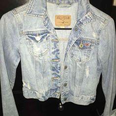 For Sale: Hollister Jean Jacket for $25