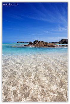Crystal clear Bermuda water.