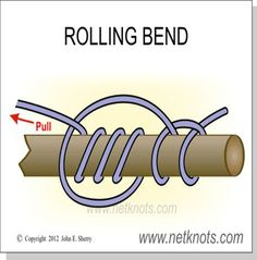 Rolling Bend - Secure a line to a post