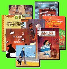 L'ÉTRANGER  Cette fiche pédagogique élaborée en 2008 par le groupe du comité de lecture Télémaque. Elle est accompagnée d'une bibliographie en littérature de jeunesse.