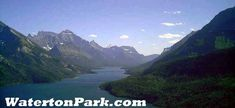 Waterton Glacier International Peace Park.  I want to go back here.  The lake is half in America & half in Canada.  You can only get to the American side by going to Canada & taking a boat.  BEAUTIFUL!