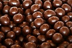 Chocolate Covered Coffee Beans--once again, this IS practical.  It keeps you going when you are feeling sluggish; that's a necessity!