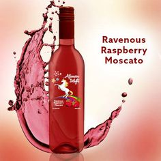 Our Ravenous Raspberry Moscato has 62% fewer calories per serving than Skinny Girl Pinot Noir!