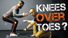 Knees Over Toes? – How To Squat Properly Should your knees cross over your toes when you do a squat? First and foremost, the squat is not really that important of an exercise. How To Squat Properly, Toe Length, Squat Workout, Low Impact Workout, Trigger Points, Calisthenics, Good Mood, Excercise, Health Fitness