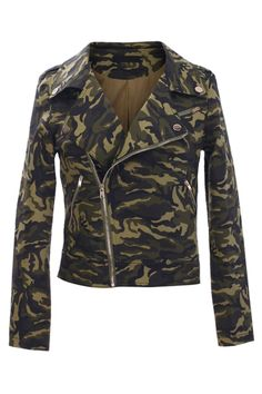 #romwe Military Green Jacket  $69.99 #romwe