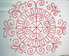 Kalotaszegi kisrózsa majorannával / Little Rose with Marjoram of Kalotaszeg Vintage Jewelry Crafts, Hungarian Embroidery, Little Rose, Textiles, Blog Planner, Blogger Templates, Jewelry Organization, Embroidery Stitches, Folk Art