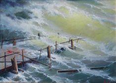 """Dmitriev George,  """"In a storm"""",   www.art-helicon.u/eng/asp/artist/art99.asp"""
