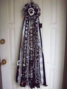 Homecoming Mums - Homecoming Queen Sash Mum - Special Event Floral Designs