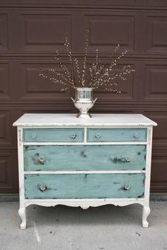 This is exactly what I want for my living room!!! #shabbychicdresserslivingroom #livingroomrefurbishing