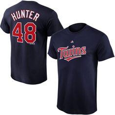 da3e40213 Torii Hunter Minnesota Twins Majestic Youth Player Name & Number T-Shirt -  Navy